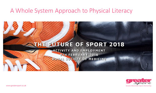A Whole System Approach to Physical Literacy