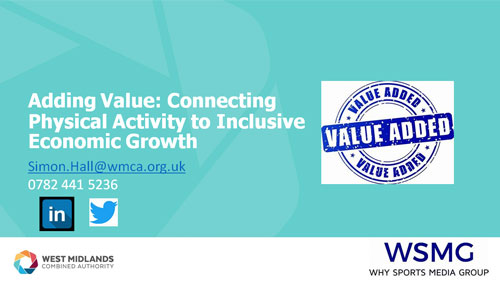 Adding Value: Connecting Physical Activity to Inclusive Economic Growth