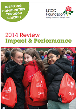 LCCC Foundation 2014 Review Impact and Performance